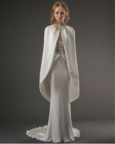 Wedding Gowns with Capes - Always a Blogsmaid >> The Blog of AaB Creates Always a Bridesmaid