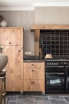 Eiken houten keukens