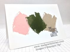 Stampin' Up! In Colors 2014-2016 color pairings by Brian King