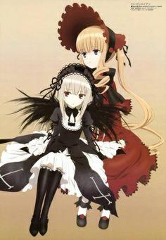 Rozen Maiden Zurückspulen - Shinku and Suigintô
