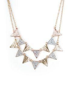 The Geo Triad Necklace by JewelMint.com, $29.99