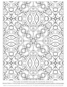 free-abstract-pattern-adult-coloring-page-1.gif 1,275×1,650 pixels