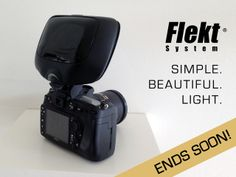 Another awesome photo kickstarter--a reflector to improve your on camera flash.  This looks really cool.