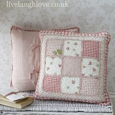 Red Gingham Cushion Cover-50cm