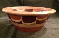 Handcrafted Segmented Bowl P5WoodTurning