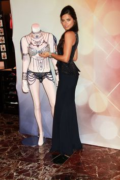 Adriana Lima and Alessandra Ambrosio showcase $2 Million Fantasy Bra at Victoria…