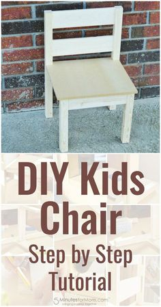 Woodworking Projects For Kids diy kids chair how to build a kids chair for beginners, wood chair kids diy projects - If you're wondering how to build a kids chair, here is a stepbystep tutorial for a simple DIY Kids Chair Kids Woodworking Projects, Wood Projects For Kids, Wood Projects For Beginners, Wood Working For Beginners, Diy Pallet Projects, Diy Woodworking, Woodworking Furniture, Woodworking Equipment, Woodworking Chisels