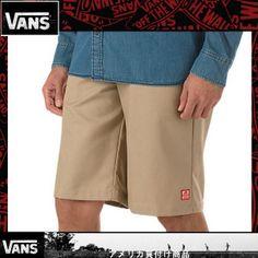 VANS RED KAP VANS WORK SHORT VN-0J8SKHK [californiastyle_van-524] - $39.99 : Vans Shop, Vans Shop in California