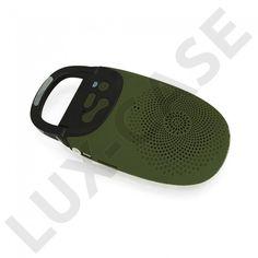 A7 (Grønn) 2 in 1 Bluetooth Høyttaler + Kamera kontroll til smartphone