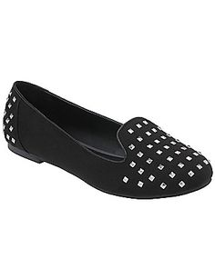 ee0be7769ac Faux suede studded flat by Lane Bryant BUY