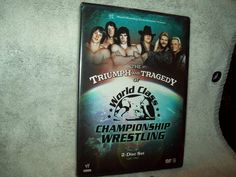 WWE THE TRIUMPH AND TRAGEDY OF WORLD CLASS CHAMPIONSHIP WRESTLING 2 DVD SET