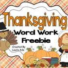 Enjoy+this+fun+Thanksgiving+Freebie!++  How+many+words+can+you+spell+from+the+letters+Thanksgiving?  Students+will+have+fun+while+they+practice+mak...