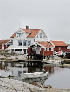 Sweden -- small fishing villages along the coast