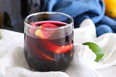 Sparkling Blueberry Sangria Mocktail from kleinwoethco.com