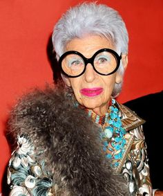 Iris Apfel has some empowering thoughts about having clutter in your home