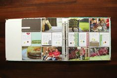 """website all about project life. gonna start one of these instead of a """"scrapbook""""."""