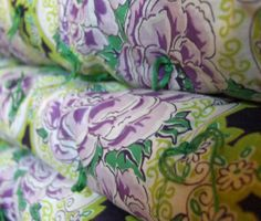 Vintage Tied Coverlet Quilt in Lilac and Lime by AnnaLeesAttic, $44.00 Lilac Bedroom, Lime, Quilts, House, Vintage, Comforters, Purple Bedrooms, Quilt Sets, Kilts