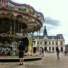 City Hall square in Poitiers, France. Study abroad at our Institut d'Etudes Politiques - Sciences Po Exchange!
