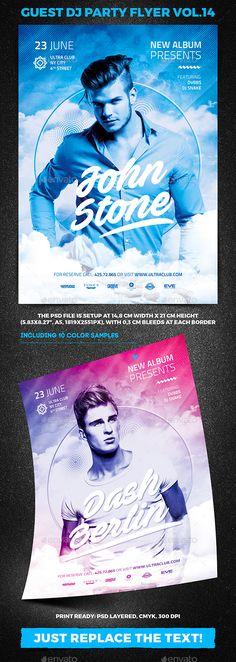 Guest DJ Party Flyer vol.14