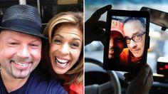 Did Hoda really meet cabbie who befriended Tom Hanks? See the photo!