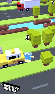 Poor floppy fish !!! Crossy road