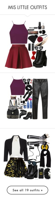 """""""MIS LITTLE OUTFITS"""" by marii-96-1 ❤ liked on Polyvore featuring Topshop, P.A.R.O.S.H., Quay, Burton, Bajra, Mary Kay, OPI, Essie, Zara and Casetify"""