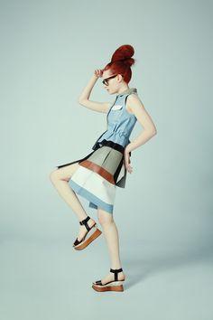 """Four Eyes Fashion""  Via papermag.com  Source: http://www.papermag.com/2013/02/go_team_four_eyes_fashion.php#"