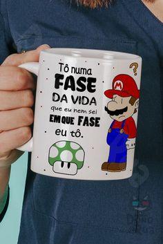 Best Memes, Funny Memes, Geek Decor, Posca, Otaku Anime, Cool Words, Mario, Coffee Mugs, Nerd