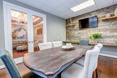 Industrial Contemporary Office designed by Adamson Designs ...