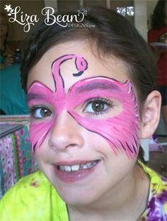 Pink Flamingo Eye Mask ; Quick, easy and fun!