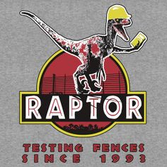 raptor and fences