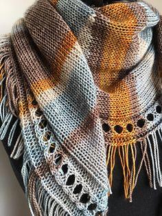 Crochet Shawl Ravelry: September Shawl pattern by Caroline Wiens - There was an error on row a was missing. It should read: Circular Knitting Needles, Loom Knitting, Hand Knitting, Knitting Machine, Knitted Shawls, Crochet Scarves, Knitting Scarves, Knit Or Crochet, Crochet Shawl