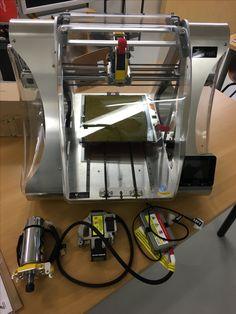 ZMorph 2.0 SX 3D-tulostin CNC-jyrsinpäällä ja laserkaiverruspäällä nyt esittelylaitteena tiloissamme. #zmorph3d #3dprinter #cnc #laserengraver