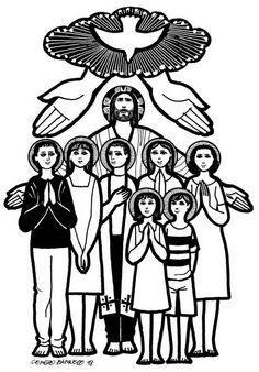Catholic Saints and All Saint's Day Coloring Pages | Family Holiday
