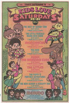 I stumbled across a few more Saturday Morning Cartoon advertisements in some old comics. Below are ads that ran in DC comics in the fall of At the time, they were promoting the upcoming fall line-up of Saturday morning cartoons on ABC 1980 Cartoons, Best 90s Cartoons, Classic Cartoons, Funny Cartoon Pictures, Cartoon Photo, School Cartoon, My Childhood Memories, 90s Childhood, School Memories