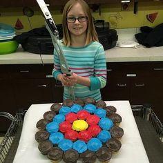 archery cake: