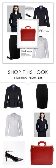 """""""Quiet Drama"""" by patricia-dimmick on Polyvore featuring Alexander McQueen, New Look, WorkWear and 60secondstyle"""