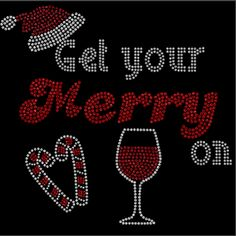 Get your MERRY on  Rhinestone Shirt!!! Rhinestone Shirts! Regular cut t-shirt sizes small- extra large $25.00, On a ladies cut t-shirt $30.00, on a long sleeve tee shirt or sweat shirt $35.00. Add an additional $5.00 for plus sizes. Shipping $5.00 first item, additional items $2.50 www.facebook.com/beachbumzbazaars