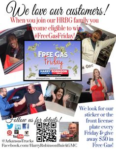 #FreeGasFriday in Fort Smith AR