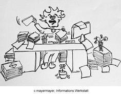 Kampf dem Krimskrams!  Auf einem überfüllten Schreibtisch ist kein Platz für Neues. Aktuelle Notizen und wichtige Vereinbarungen sollen leicht gefunden werden. Der Rest?  Unser Tipp: Räumen Sie regelmäßig Ihren Schreibtisch auf und entsorgen Sie Alles, das Sie nicht benutzen. So schaffen Sie mehr Raum für Ihre Konzentration und Platz für einen persönlichen Gegenstand,  oder ein inspirierendes Bild.
