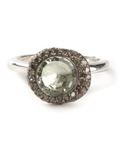 Shop Rosa Maria 'Beenut' diamond prasolite ring in Dolci Trame from the world's best independent boutiques at farfetch.com. Over 1000 designers from 60 boutiques in one website.