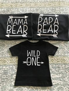Baby First Birthday Family Shirts