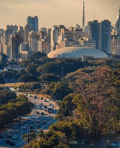 Ginásio do Ibirapuera visto do MAC USP by @kassiomassa #saopaulocity #EuVivoSP