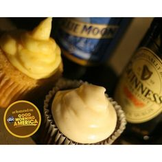 The Original Beer Cupcakes - Guinness & Blue Moon (12 pack)