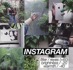 Instagram filter.:
