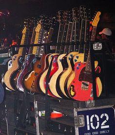 Johnny Rzeznik's Guitars #GooGooDolls