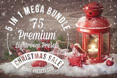 Check out 40% OFF • Christmas Mega Bundle • by beArt-presets on Creative Market