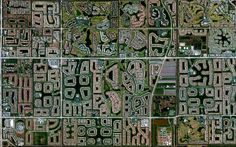 1/16/2014 Residential development Boynton Beach, Florida, USA 26°31′41″N80°4′35″W  For nearly five decades, much of Boynton Beach, Floridawas covered with dairy farms as the city became the main milk supplier for Palm Beach County. However, by the 1970s, the dairies were no longer profitable and the lands were converted into housing developments like the ones seen here.
