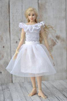 Beautiful Handmade Clothes for 112 scale Baby dolls,Baby  Zjakazumi,Heidi Ott dolls-BLOUSE and PANTS