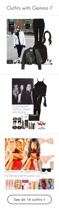 """""""Outfits with Gemma ♥"""" by fxrever-isnt-for-everyone ❤ liked on Polyvore featuring Topshop, Acne Studios, Yves Saint Laurent, Smashbox, Oh My Love, Paul Andrew, Valentino, Chanel, Gucci and Burberry"""